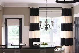 White Kitchen Curtains With Black Trim by The Yellow Cape Cod My Kitchen Makeover Reveal