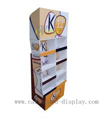 New Design Cardboard Pallet Display Stands For Supermarket Retail