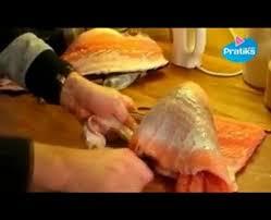 comment cuisiner un saumon entier comment découper un saumon entier partie 2 2 pratiks