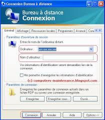 bureau a distance bureau à distance comment gérer un ordinateur à distance sous xp