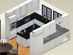 Small Modern U Shape Kitchen Design
