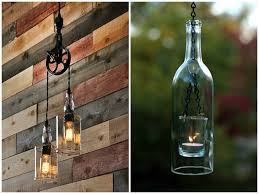 DIY Tutorial Guide To Make A Lamp With Old Bottles Pendant Lighting Table Desk Lamps Bottle Recycled Whiskey