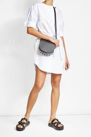 Alexander Wang Cotton Shirt Dress White Womenalexander PumpsCheap Sale