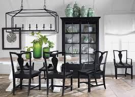 Back To Black And White Dining Room Main Image Ethan Allen