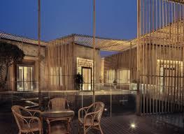 100 Tea House Design Bamboo Courtyard House By HWCD CAANdesign