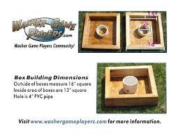 Washer Game Building