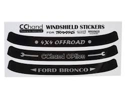 RC4WD CChand TRX-4 Bronco Windshield Decals [RC4VVVC0496] | Cars ... Decals For Cars And Trucks 11 Best Images About Windshield On Car Visor Decal Sticker Graphic Window How To Apply A Sun Strip Etc Youtube Supplies Creative Hot Charm Handmade 2017 New Laser Reflective Letters Auto Front Dodge Challenger Graphicsstripesdecals Streetgrafx Product Gmc Truck Motsports Windshield Topper Window Decal Sticker Dirty Stickers Amazoncom Dabbledown Like My Ex Buy 60 Supergirl V4 Powergirl Girl Dc Comics Logo Printed Yee 36 Granger Smith Store Quotes Quotesgram