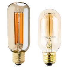t14 led filament bulb 40 watt equivalent vintage light bulb w