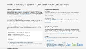 Decorator Pattern Java Example Stackoverflow by Jboss Wildfly Application Server Tutorial Examples Java Code