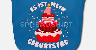 4 geburtstag 4 jahre torte kuchen kinder geschenk lätzchen spreadshirt