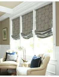 Living Room Blinds Ideas Roman Shade Idea For New House Dining Home Interior