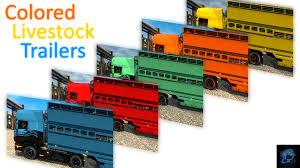 Painted Trailer Pack For Killua V2.1 File - Euro Truck Simulator 2 ...