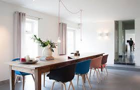 View In Gallery Minimal Style Combined With Farmhouse Elements To Create A Cool Dining Room