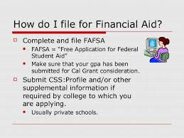 college financial aid presentation 2013