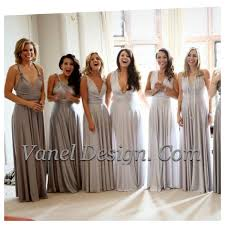 grey silver bridesmaid dress one dress endless styles long