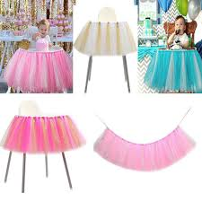 Details About Birthday Party Kids Baby Girl High Chair Glitter Tutu Tulle  Skirt Cake Cloth DIY Amazoncom Ivory Gold Glitter Highchair Skirt Triplets Toddler Diy Tutus And High Chair Skirts How To Make A Tutu Sante Blog Pink White Tu Sktgirls First Birthday Smash Cake Party Custom Changes Yaaasss Unicorn One Banner Theme Diy For Unixcode 3 Ways To A Wikihow Tulle Decoration Supernova Baby Hawaiian Supplies Near Me Nils Stucki Kieferorthopde Princess I Am One With Marious T