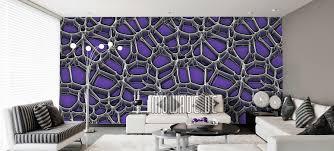 tapeten lila violett flieder modernes design mowade