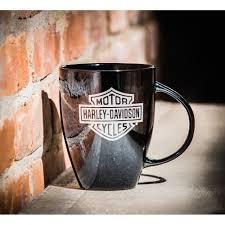 Harley Davidson Bathroom Decor by Amazon Com Harley Davidson Ceramic Coffee Mug Bar U0026 Shield