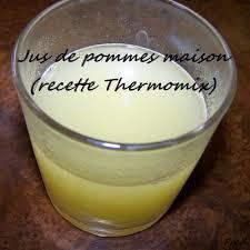 jus de pommes maison recette thermomix la cuisine des mamans