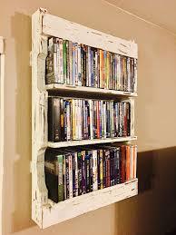 Pallet Shelves Living Room Diy Shelving Make Shelf Out Of Rustic Wall For Dvd S Easy