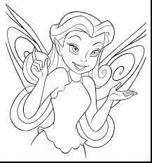 Remarkable Disney Fairy Coloring Pages With Color And Princess