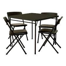Cosco 5 Piece Folding Table And Chair Set, Black | Staples® - Staples.ca 6 Pcs Patio Folding Fniture Set With An Umbrella Outdoor Tables Rustic Farmhouse Table Chairs Cosco 3piece Dark Blue Foldinhalf Set37334dbk1e Lifetime Contemporary Costco Chair For Indoor And Costway 5pc Black Guest Games Showtime 3 Pc Childrens By At Ding Home Kitchen Dinner Wood 4 Portable Camping And Neotech Deals The Depot 5pc Color Out Of Stock Figis Gallery Pnic Designs Youtube