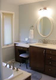 bathroom vanities with makeup table best 25 bathroom makeup