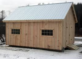 Free Storage Shed Plans 16x20 by 16x20 Barn Jamaica Cottage Shop