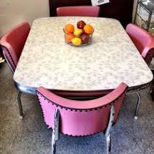 Yellow Formica Table