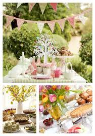 Easter Brunch Tables