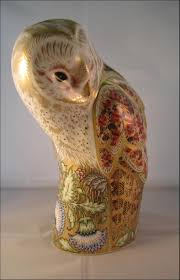 BoxesAndPorcelain.com Winter Owl Paperweight Royal Crown Derby Collection Rspb Shop A Large Prestige Edition Paperweight Long Eared The Barn Gift 91papbox62729_07jpg Lot 250 Printed Mark Colctables Exclusive Collections Robin Happy Birthday Bear A Beswick Owl 1046 2 Porcelachina Pottery Porcelain Glass