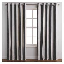 curtains diy amazon curtain panels black and white striped living