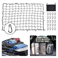100 Truck Nets BORDAN Bungee Cargo Net 5x7 Heavy Duty Bed Stretches To