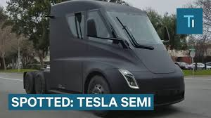 A Tesla Semi Was Spotted On A Public Road — Here's An Update On The ... Thn Su How Much Does A New Volvo Semi Truck Cost Concept Cuts Fuel Tesla Announces Truck Prices Lower Than Experts Pricted Ars Technica Towing Schmit Trucking Otr American Racing Trucks Ari Legacy Sleepers Futuristic Big Rigs Hit The Road As Waymo Uber Test Nextgen To Avoid An Auto Accident With A Semitruck Attorney Breakfast Unveil Will Blow Your Mind Livestream At 8pm Pt Is Archives E For Electric