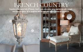 French Country Furniture Lighting Home Decor