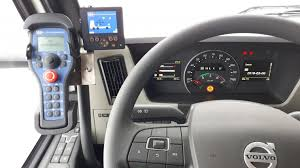 100 Volvo Truck Center Hooklift With CanPlus Control Center Sweden