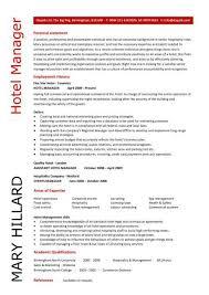 Hotel General Manager Resume Badak Rh Resumebadak Website Example Restaurant Management For