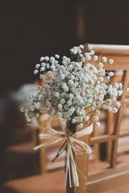 Rustic Wedding Aisle Flower Decor Ceremony Flowers Pew Add Pic Source On Comment And We Will Update It Myf