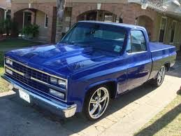 1987 Chevy Truck Blue Styles | Chevy | Pinterest | Blue Style ... Lifted Chevy Trucks 1987 Silverado C10 Lastminute Decisions Custom Truck Youtube Murdered Out Sounding Good Nation Hard To Find A Chevy Short Bed 4x4 Truck Like This The Crate Motor Guide For 1973 To 2013 Gmcchevy 16x1200px Wallpaper Desktop Wallpapersafari Black Cheap Inch Lexani Lx Wheels On 198187 Fullsize Gmc Dash Pad Cover Pads 25k Mile Survivor Ck Scottsdale