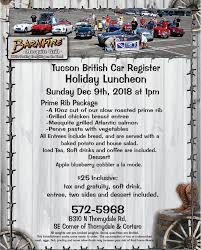 100 Ttt Truck Stop Tucson Az Events British Car Register Page 2