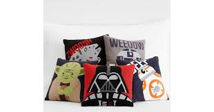 Pottery Barn Decorative Pillows by Pottery Barn Kids Star Wars Boucle Decorative Pillows Star Wars