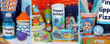 Bubble Guppies Cake Decorations by Bubble Guppies Party Supplies Package For 8 At Dollar Carousel
