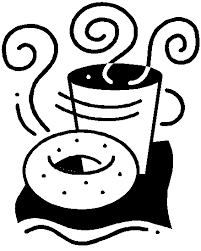 Bagels And Coffee Clip Art