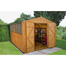 6x5 Shed Double Door by 12 X 8 All Garden Buildings Popular Wooden Shed Sizes U2013 Next Day