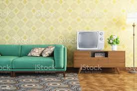 vintage wohnzimmer interior stockfoto und mehr bilder 1950 1959