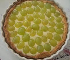 dessert aux raisins frais tarte aux raisins les projets de miss butterfly