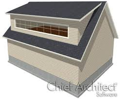 Shed Dormer Plans by Drawing A Shed Dormer Manually
