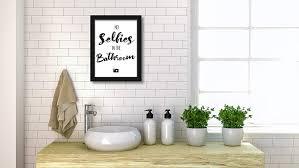 premium 4er set lustige bad wc sprüche badezimmer toilette zitate deko bild kunstdruck a4 poster witzig ohne rahmen