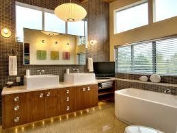 gorgeous mid century modern bathroom vanity design from wood wih