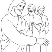 Jesus In The Temple Coloring Page AZ Pages